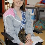 Chrissie shows how pets may have a calming effect for those with brain injury.#NationalCatDay http://t.co/Lq0ICVUiHR http://t.co/TaeDXkb11D