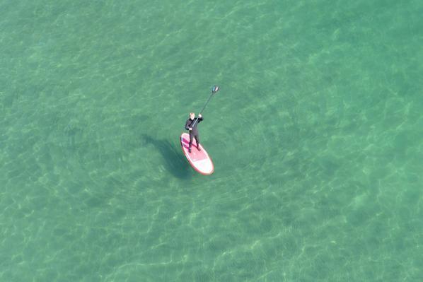 本日のいわきの海の透明度はハンパじゃなかったです。年に数回のチャンスでした。 http://t.co/KwZluYnlDg