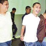 Gambar tiga pelajar kolej swasta yang dijatuhkan hukuman gantung atas kesalahan membunuh pensyarah mereka dan bapanya http://t.co/qkrb64AIuO