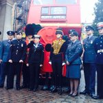 RT @PoppyLegion: Were almost ready to go! Follow the #LDNPoppyDay routemaster bus with us on twitter! 1st stop Buckingham Palace! http://t.co/d3OY9dSbiq