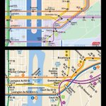 2 ways to get from Manhattan to Queens #nyc #subway #map #NYC http://t.co/YW6Cp1suoW
