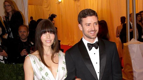 Congratulations to Justin Timberlake and Jessica Biel!