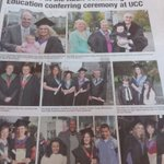Lovely pics from @ACEUCC @conferrings in todays @corkindo, well done all! #sUCCess http://t.co/xkmIpwRai5