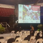 #memorial All systems go at the Standard Bank Arena for the memorial service of the three sport stars #sabcnews http://t.co/SirwZxZVEi