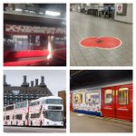RT @TfLOfficial: Its London Poppy Day so weve dressed up to honour those who died in WW1& 2 #LPD2014 http://t.co/K3d3uGIBsE