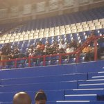 #Memorial Orlando Pirates supporters have begun taking seats. They are here to pay tribute to Senzo Meyiwa. #sabcnews http://t.co/1BFPorAVA2