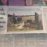 Killavullen Community finally get working broadband thanks to @NovaBroadband ???? Gr8 story front page @irishexaminer http://t.co/UzIkxKi1j0