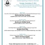 #MKE #ChefFriends Pls #RETWEEET #ESChefDinner @ESSoutheastWI @charitybuzz @MilwaukeeToday Chef Dinner 11/6 <30 seats http://t.co/DxNZyaqbf2