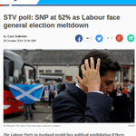 How STV is reporting its sensational Scottish Westminster voting poll. Scots LAB in meltdown http://t.co/vwHaBz1oDV