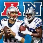 NFL Players of the Month AFC (Offense): Tom Brady NFC (Offense): DeMarco Murray FULL LIST: http://t.co/Dgi87U8stg http://t.co/D54yXVgq3l