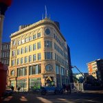 Front shot of #FerdinandBuilding at Dudley Station // #ABX2014 #Boston #Architecture http://t.co/hfx2eI7v45