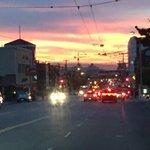 Even the San Francisco sky is celebrating an #OrangeOctober. #SFGiants http://t.co/UevNroEZdm