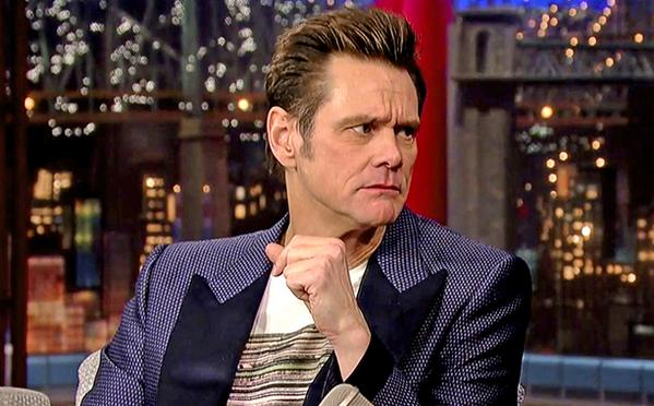 Jim Carrey is not done doing his McConaughey impression—here he is on 'Letterman':