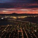#SanFrancisco at #sunrise. The whole city is turning orange, @SFGiants http://t.co/mSPAGcfFi5 http://t.co/LUOxwJuArW