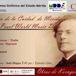 Concierto Aniversario de Mérida y #DanielPeralMusicDays #Osem 31/10 Aula Magna #ULA 7p.m. @CarlosGarc1a http://t.co/tBwosBSFl7