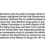 "MP @JulianHuppert's drugs policy motion passed by @HouseofCommons unanimously (but few MPs present shouting ""Aye"") http://t.co/VWECpb4IpR"