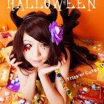 GIRLY Halloween *Trick or Cute?* model:岩茶 @Que2780 photo:涼 @RyoTyler #Halloween #halloweencostume #ハロウィン #ハロウィンメイク http://t.co/87JF64Lt9c