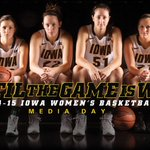 #Hawkeyes Media Day today! Check http://t.co/8oS9Y7Fqc2 for full coverage and @TheIowaHawkeyes, @IowaWBB for updates. http://t.co/1AUrZNYXpv
