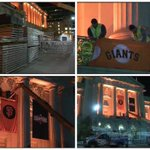 Preparations for #WorldSeries Parade began early this morning w/banners, bleachers, stages http://t.co/l2y8iPqsyN http://t.co/sBuptHIO5Z