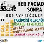 ! HER FACİADAN SONRA HEP AYNI SÖZLER: | #ermenek #soma #torunlar #kobani #gezi #terör | http://t.co/7WobivKnxE