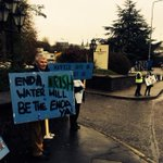 RT @ronanbagnall: Protestors outside Silversprings Hotel ahead of a meeting between @IrishWater and city and county councillors. http://t.co/FwMRerYhB2