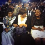 Mama @winniemandela just arrived at #JointMemorial http://t.co/JHasdjYdBT