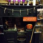 Getting ready for #Halloween in #Edinburgh #underground would you care to join us? http://t.co/dJUQPwhWxb