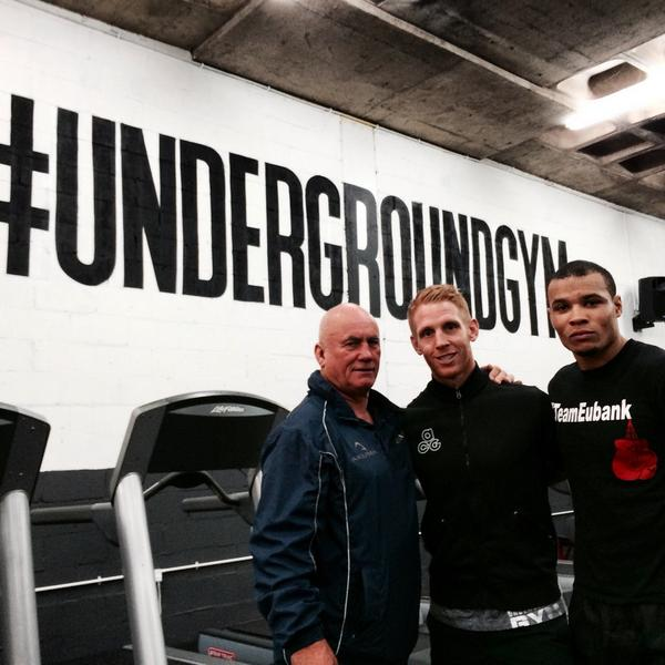 Great #sgut #conditioning session with @ChrisEubankJr in @HIT_Room #TeamEubank http://t.co/mSVcFZXsmo