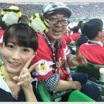 RT @tsudamarinal: 市丸さん(@ichimaru10 )もヤフオクドームに来られているという事で、一塁側に乗り込んでご挨拶してきました!! お互い、負けられない戦い。そして、この格好で一塁側に入る津田の勇気。← #hanshin #tigers http://t.co/hg2DrnyMNb