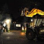 Des agriculteurs manifestent... de nuit #Strasbourg #Alsace http://t.co/4xO2Tc6c4S #Strasbourg http://t.co/Veail7QXYr