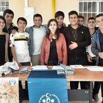 #Bornova İmam Hatip Lisesi öğrencileriyle #Türkiye nin .@GSBgnclkmrkzlr ini buluşturduk. #GüçlüYarınlarİçin #GSBGM http://t.co/bBMDJADjLv