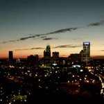 Another amazing sunrise from @WBTV_News #TowerCam! Good morning CLT! Big @hornets win followed by @Panthers tonight? http://t.co/qS8DFqxKAt