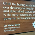 On the #AgeScotPoA roadshow again. Waverley not ceasing to delight me by the wonderfulness of Sir Scott #waverley200 http://t.co/AEvPl38Mlx