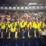 Beautiful tributes #Meyiwa #Mwelase #Mulaudzi Memorial #Heroes Amazing support from SA superstars paying respects. http://t.co/1BXIpfJhqM
