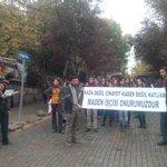 Cebeci Kampüsü öğrencileri basın açıklaması yapıyor. #Ermenek #Ankara #Cebeci http://t.co/bVEQyPXQnM