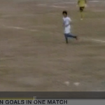 RT @BBCSport: Five own goals in one game = disqualification for match-fixing. Watch http://t.co/BuKRAzuT9G http://t.co/5kvk4gt8sO