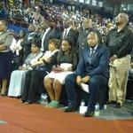 Mama Winnie and the Mandela family at the memorial service. #sabcnews http://t.co/EJV0QPklzk