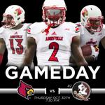 Its Gameday! @UofLFootball versus @FSU_Football tonight on ESPN http://t.co/OQKzE7qwEF