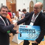 Guess who won the #Pioneers14 #startups competition ;) with @oholle @lyuben cc @MxGur @LAUNCHub @StanSirakov http://t.co/BDqYpVDmOS