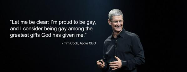"Tim Cook: being gay has ""given me the skin of a rhinoceros - handy when you're CEO of Apple"" http://t.co/LGoTE0ztpG http://t.co/1UPOtiQbxc"