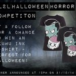Are you feeling spooky this Halloween? RT & follow for your chance to #win an @AkumuInk t-shirt! Ends 12pm 31/10/14. http://t.co/RBtLfV1CE6