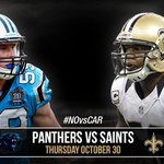 GAMEDAY! The #Saints battle the Panthers on @nflnetwork at 7:25 pm CT #NOvsCAR http://t.co/poQVNQTBFZ