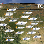 Heres what you can expect across the province today. @GlobalEdmonton Morning News. #yegwx http://t.co/zjUlg4lBPT