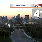 Its sunrise time! 41° degrees in #Cincinnati as you start your day. @wcpo #CincyWx http://t.co/bdR07HvEfV