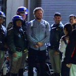 """""""@abc7newsBayArea: PHOTO: #SFGiants Hunter Pence takes picture with #CHP officers at AT&T Park. http://t.co/Kdft5mm9Sh"""" So Awesome!"""