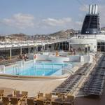 El crucero MSC Lírica llega a Cartagena con 1.500 pasajeros. #Cartagena #España http://t.co/DWQ8eAcvgk