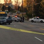 The victim has been taken to Childrens Hospital. The road will be closed for investigation. @WCPO http://t.co/ncOC1C0eS4