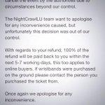 """@OnlineePR: ❌‼️ ATTENTION NIGHTCRAWLERS ❌ Please Read & RT To Others Attending #NightCrawlLU ‼️‼️ http://t.co/vVsbmp9Wgd"""