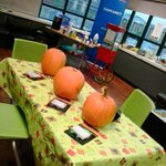 Want to carve a pumpkin? Drop by the Oasis in the Loft! #Halloween @MUNStudentLife @AllThingsMUN http://t.co/OfX0eSQ62Z