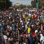 Burkina parliament set ablaze in protests over president http://t.co/8HCGZnE2yc http://t.co/ah3RcF6Zjp